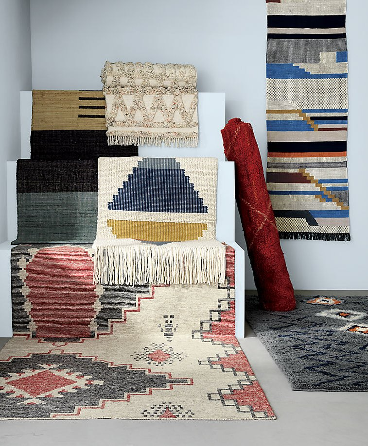 Boho rugs from CB2