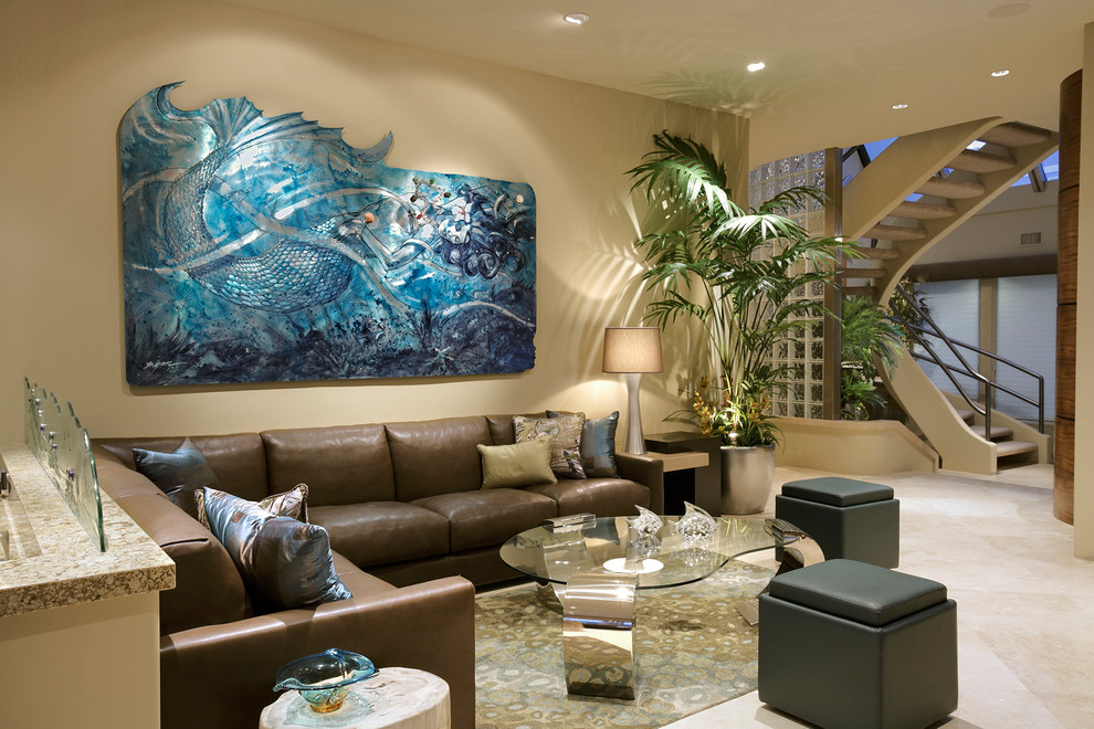 Brilliant Mermaid Art in Aluminum for the modern living room [From: Cantoni]