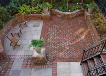 check out the eye catching ideas below and visit our post on paver patios for even more design inspiration - Brick Patio Design Ideas