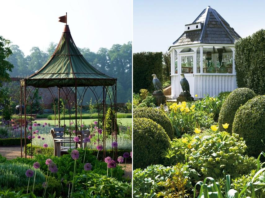 Charming gazebo structures for the garden