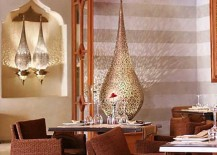 Chiseled Moroccan Lamps