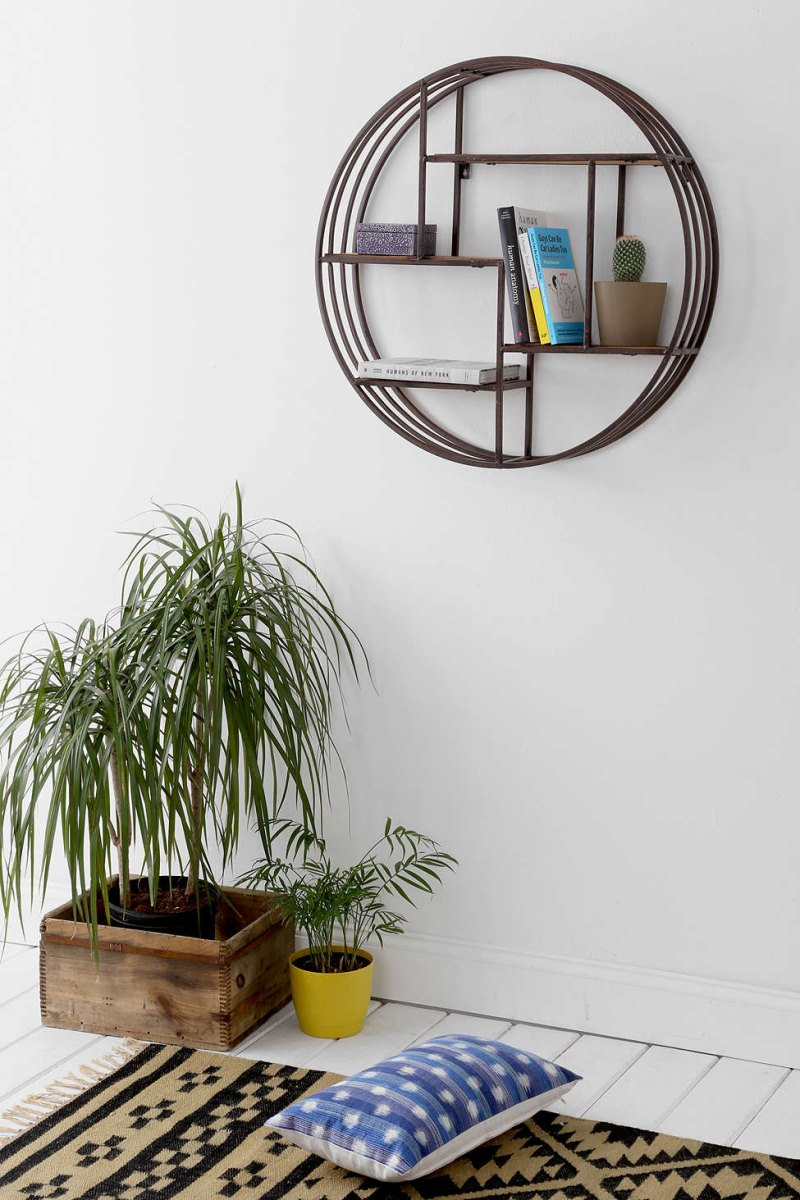 Circular wall shelf from Urban Outfitters