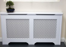Classic radiator cover design by Amber Radiator Covers 217x155 Radiator Covers That Maximize Style