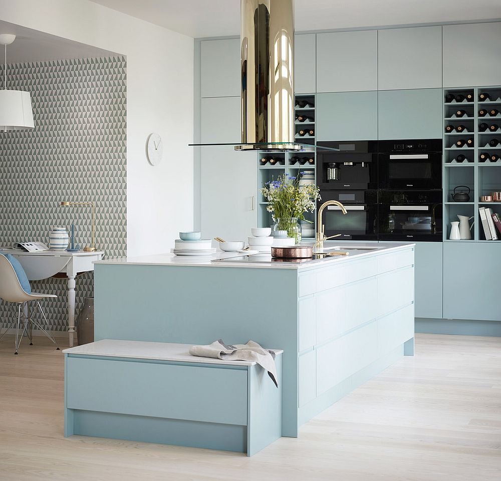 25 Captivating Ideas For Kitchens With Skylights: Classy Use Of Color Enhances The Appeal Of The Posh