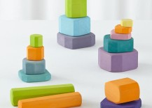 Colorful blocks from The Land of Nod