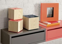 Colorful storage options from CB2