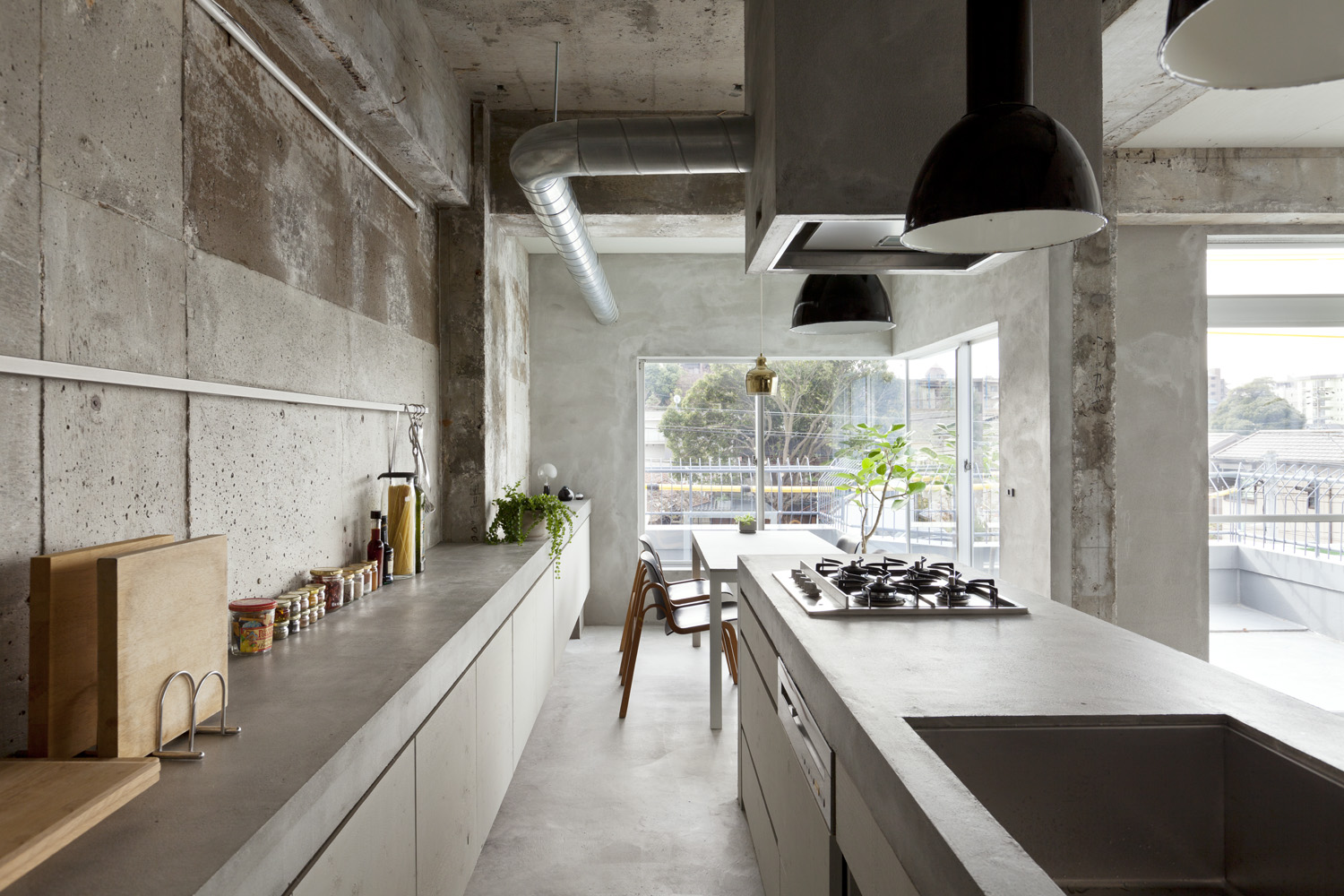 Concrete apartment II