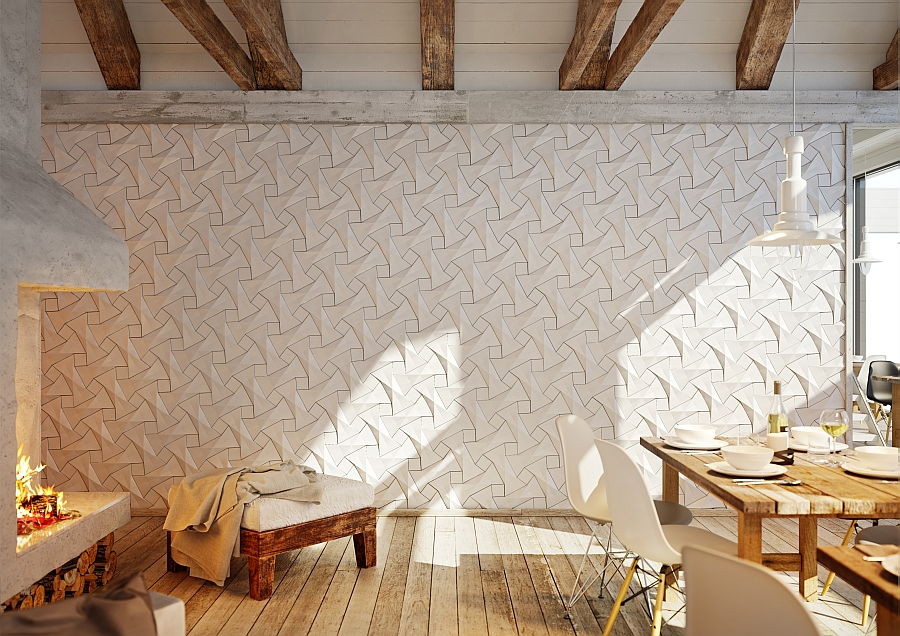 Concurrent Constellations concrete tile from KAZA 25 Creative Geometric Tile Ideas That Bring Excitement to Your Home