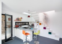 Corner-kitchen-under-the-stairs-with-a-skylight-217x155