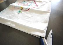 DIY Pocket Placemats Step 2