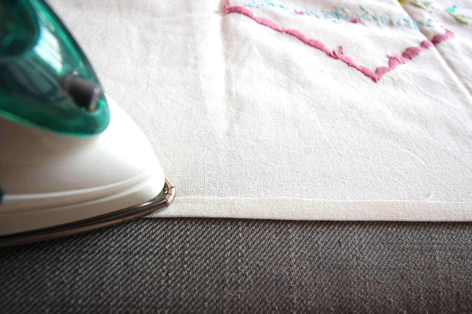 DIY Pocket Placemats Step 3