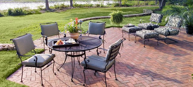 DIY paver patio from Lowe's