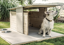 Doghouse puphaus pyramid design 217x155 13 Inspiring Ideas to Build Your Own Dog House