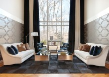 Exquisite living room with posh decor 217x155 How to Use Dark Curtains to Shape a Dramatic, Cozy Interior