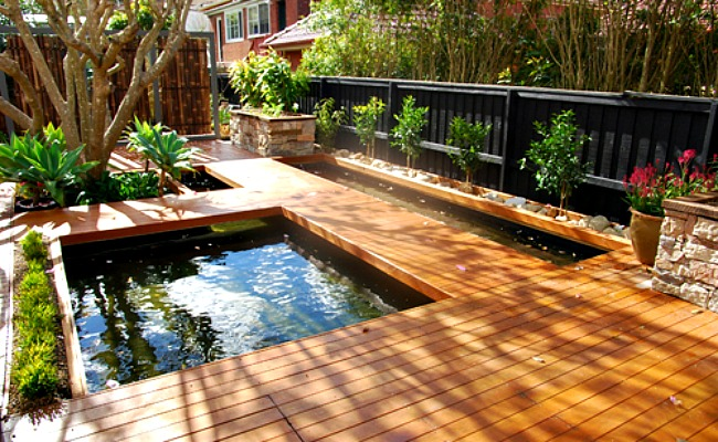 14 floating decks of all kinds for the perfect outdoor for Japanese decking garden