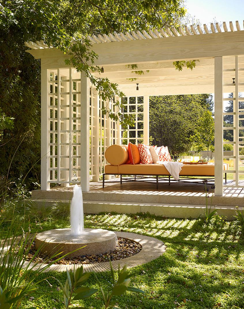 Outdoor gazebo ideas for a great living area for Gartengestaltung pergola