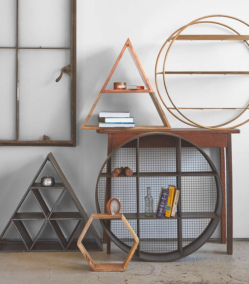 Geo Wall Shelves from Urban Outfitters Geo Wall Shelf Designs