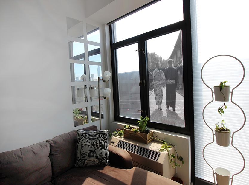 Giant Window Picture Frame
