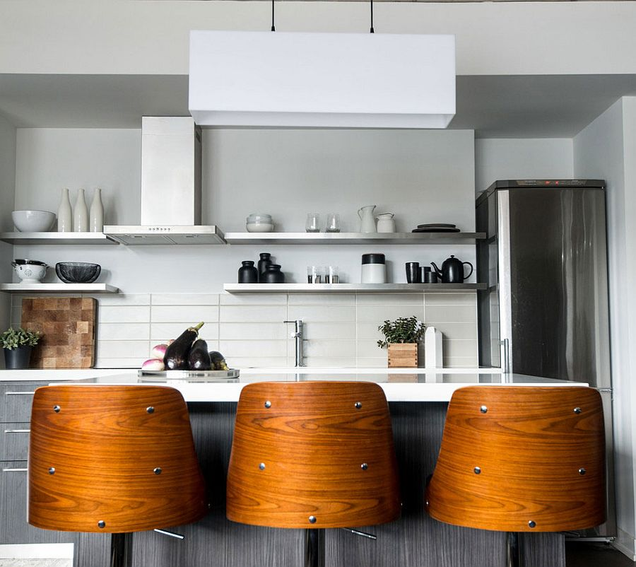 loft furniture toronto. view in gallery gorgeous bar stools add wooden warmth to smart kitchen loft furniture toronto n