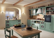 14 Dreamy Italian Kitchens Laced with Refined Traditional Charm