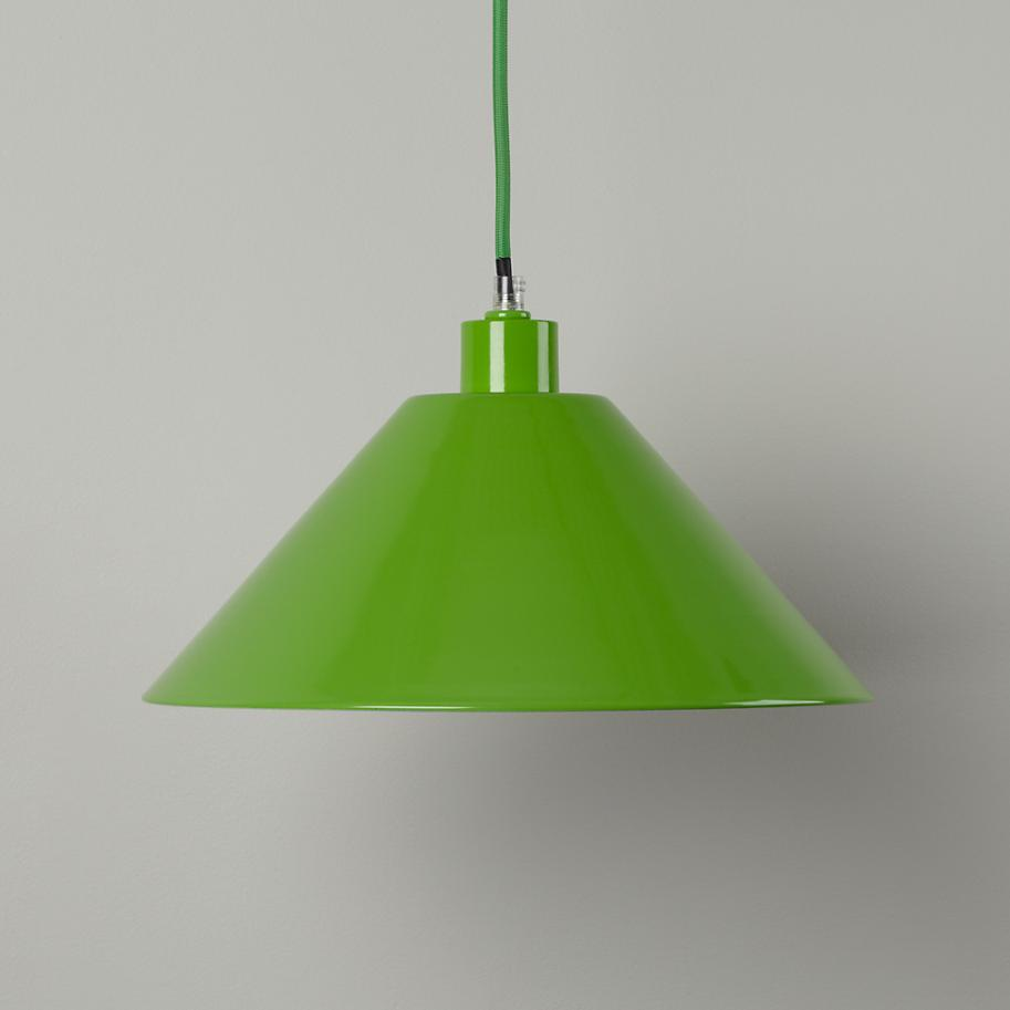Green pendant light from The Land of Nod