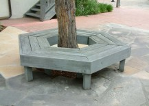 High Quality Round Tree Benches