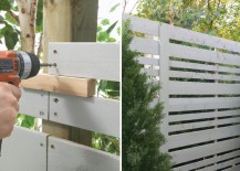Home Depot privacy fence tutorial