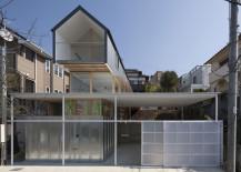 Ingenious, multi-level house in Ishikiri