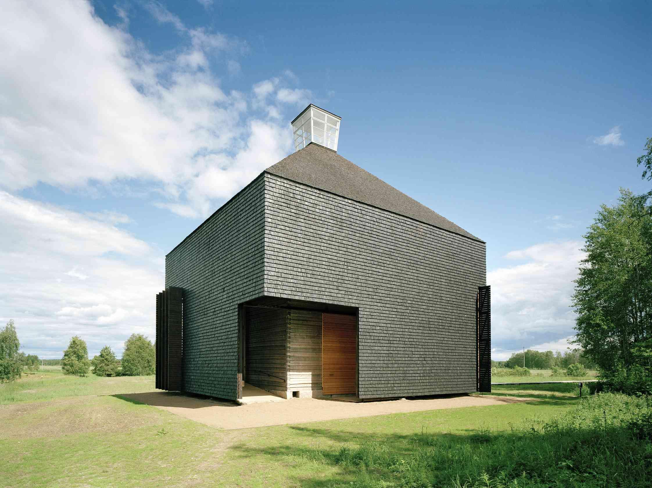 Kärsämäki Shingle Church – modern design