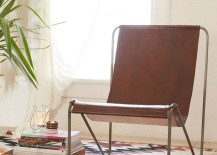 Leather sling chair from Urban Outfitters