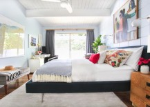 Light and airy bedroom makeover by Emily Henderson
