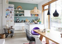 small space and Scandinavian kitchen design