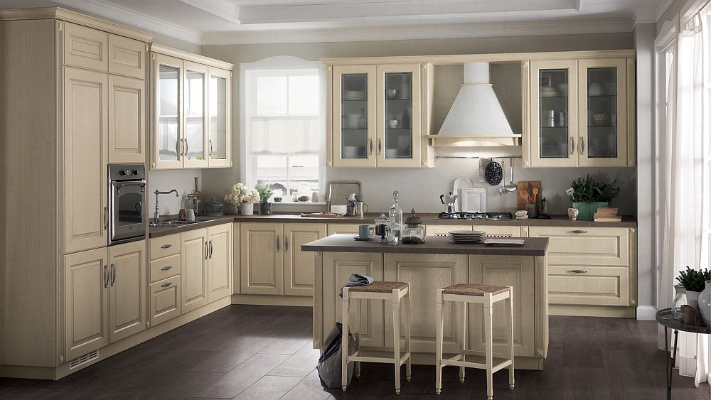 Madeleine combines classic Ialian kitchen design with contemporary ambiance