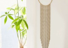 Metal wall hanging from Urban Outfitters