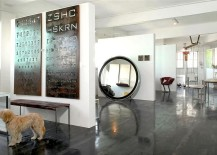 Metallic wall art with industrial flair [From: Eran Turgeman Photography]
