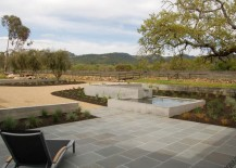 Modern paver patio with a view 217x155 10 Paver Patios That Add Dimension and Flair to the Yard
