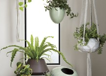 Modern planters from CB2