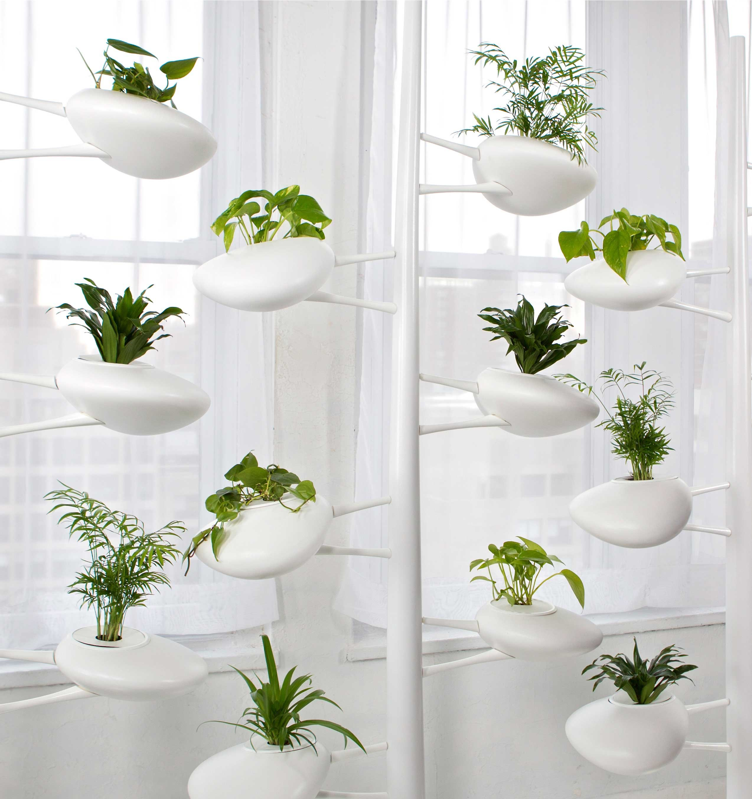 Modern hydroponic systems for the home and garden - Jardin vertical ikea ...