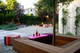 Modern square tree bench  Tree Bench Ideas for Added Outdoor Seating Modern square tree bench