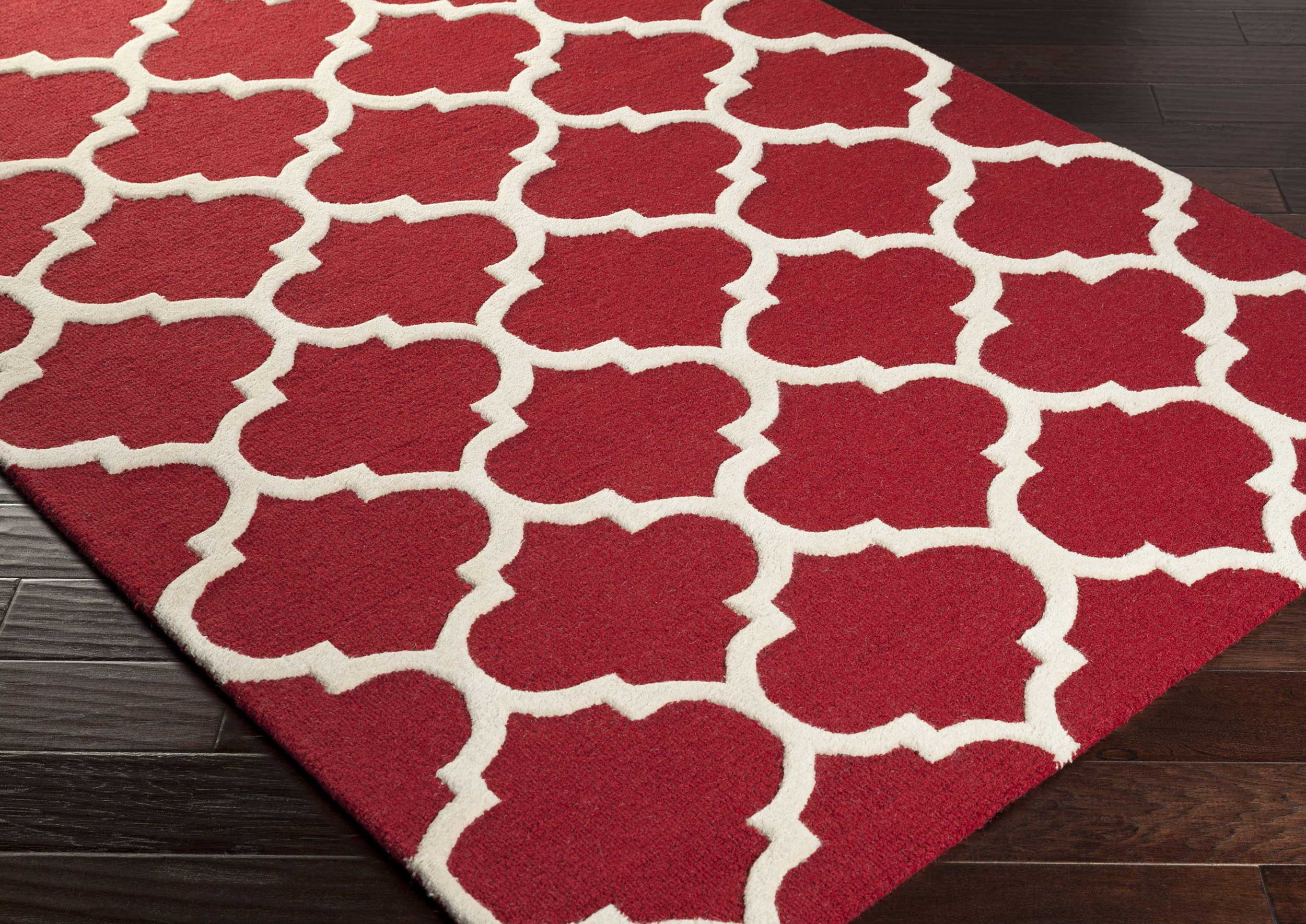 Moroccan Red Rug