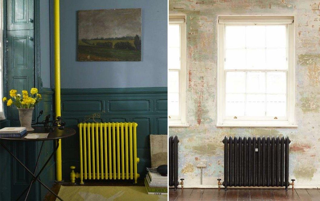 Painted radiator ideas