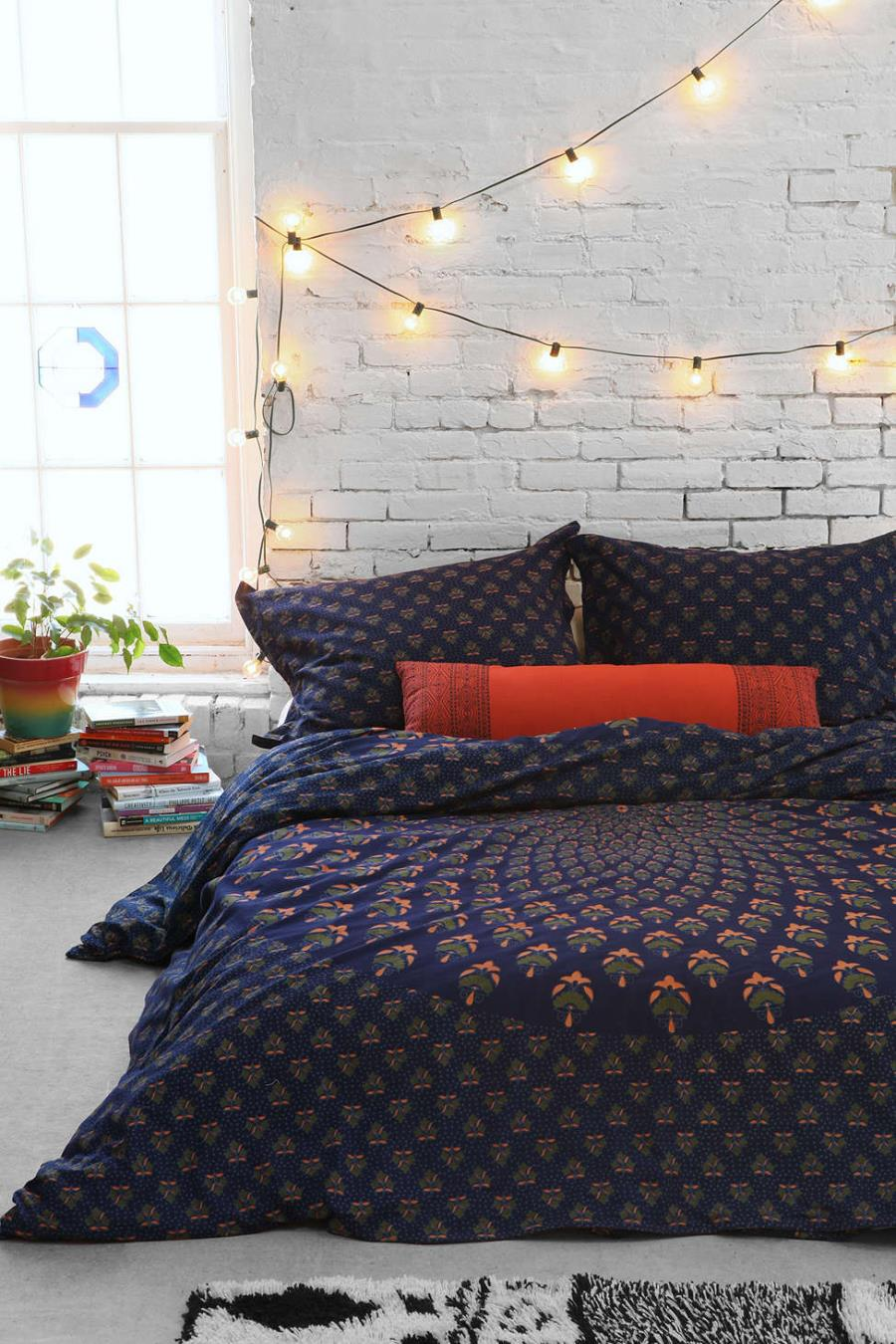 Paisley duvet cover from Urban Outfitters