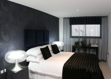 Superieur Go Dark In Style Inside The Bedroom [Design: Hennessey]