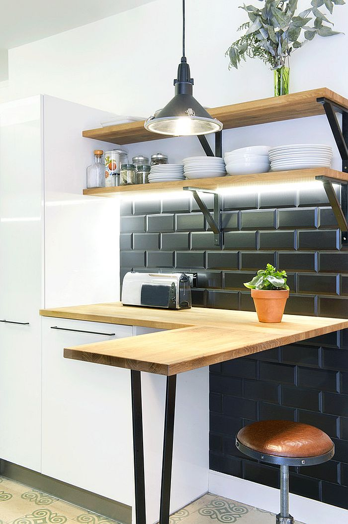 ... Scandinavian Kitchens Fit Into Even The Tiniest Of Spaces [Design: Egue  Y Seta]