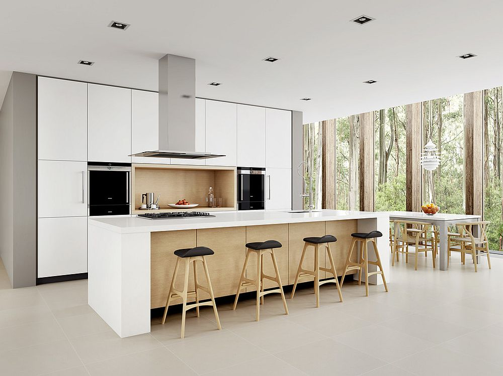 Scandinavian Style Meets Modern Minimalism Inside The Sydney Home Design Dan Kitchens