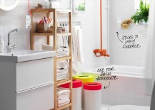Shared bathroom solutions from IKEA
