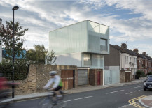 Contemporary Slip House in Brixton, South London