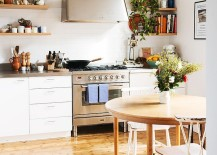 Small Scandinavian kitchen idea