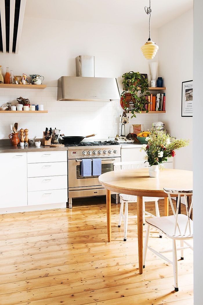 ... Small Scandinavian Kitchen Idea [Design: Nest Architects]