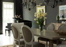 Do Not Be Scared Of Dark Curtains, As Using Those Heavy Drapes In Black Is  Much Like Using The Color Itself In The Room. Dark Curtains Bring Along  With Them ...